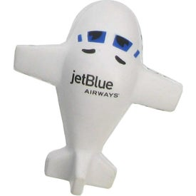"Large Airplane Stress Ball (4"" x 2"" x 3.5"")"