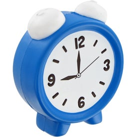 Alarm Clock Stress Toy for Promotion