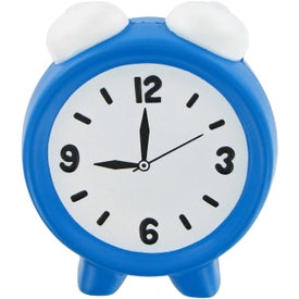 Alarm Clock Stress Toy Branded with Your Logo