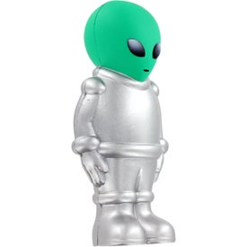 Imprinted Alien Stress Ball