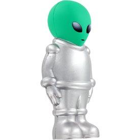 Imprinted Alien Stress Ball