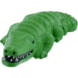 Monogrammed Alligator Stress Reliever