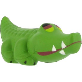 Alligator Stress Ball with Your Slogan