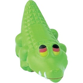 Branded Alligator Stress Ball