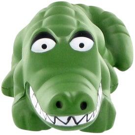 Alligator Stress Ball for Advertising