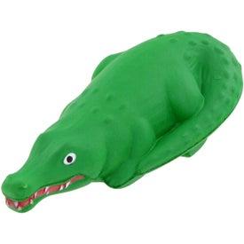 Advertising Alligator Stress Toy