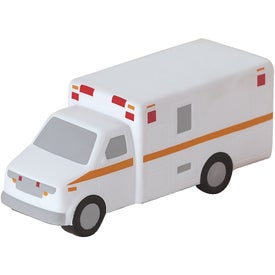 Ambulance Stress Ball Branded with Your Logo