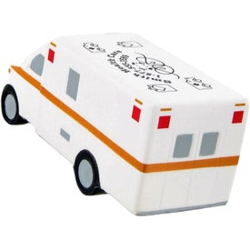 Ambulance Stress Ball with Your Logo