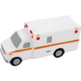 Printed Ambulance Stress Ball