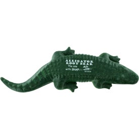 American Alligator Stress Ball with Your Slogan