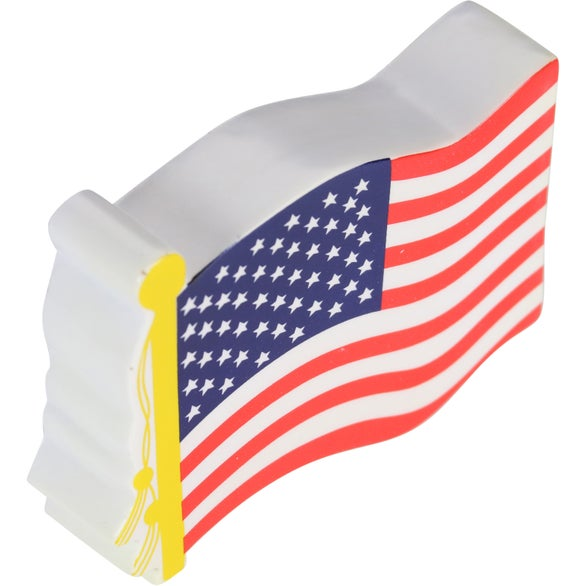 Promotional American Flag Stress Toys with Custom Logo for 0848 Ea