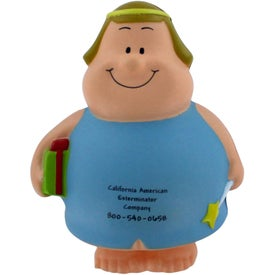 Angel Bert Stress Reliever Imprinted with Your Logo