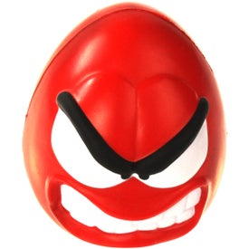 Angry Mood Maniac Wobbler Stress Ball Branded with Your Logo