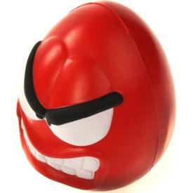 Custom Angry Mood Maniac Wobbler Stress Ball