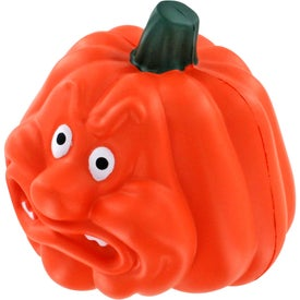 Angry Pumpkin Stress Ball for your School