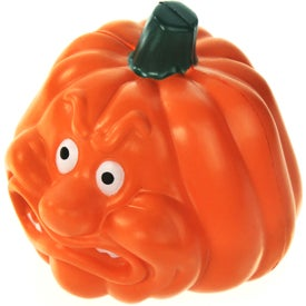 Advertising Angry Pumpkin Stress Ball