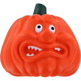 Angry Pumpkin Stress Ball