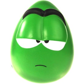 Custom Apathetic Mood Maniac Wobbler Stress Ball