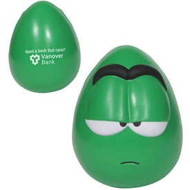 Apathetic Mood Maniac Wobbler Stress Ball for Marketing