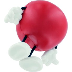 Apple Figure Stress Ball for Advertising