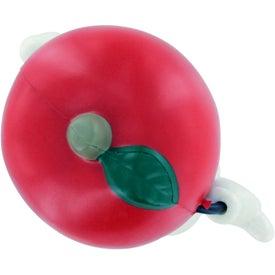 Printed Apple Figure Stress Ball