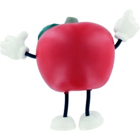 Apple Figure Stress Ball for Customization