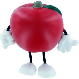 Apple Figure Stress Ball