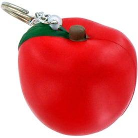 Apple Key Chain Stress Ball
