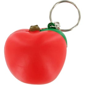 Customized Apple Keychain Stress Toy