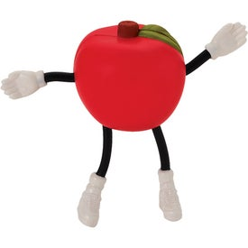 Promotional Apple Figure Stress Ball
