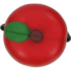 Apple Figure Stress Ball with Your Logo