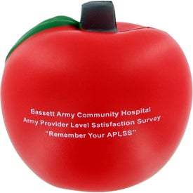 Custom Apple Stress Toy