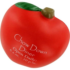 Personalized Apple Stress Ball Magnet