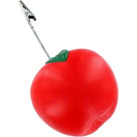 Customized Apple Stress Ball Memo Holder