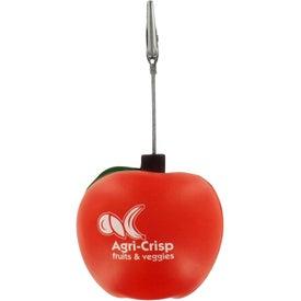Advertising Apple Stress Ball Memo Holder