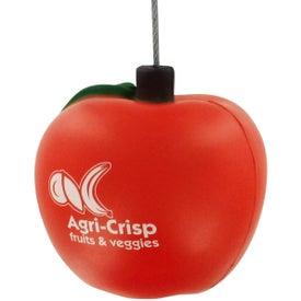 Apple Stress Ball Memo Holder for Promotion