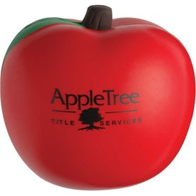 Squeezable Apple Stress Toys