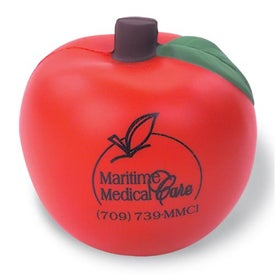Apple Shaped Stress Reliever
