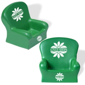 Armchair Stress Reliever Branded with Your Logo