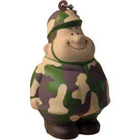 Army Bert Stress Reliever Keyring