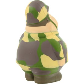 Monogrammed Army Bert Stress Reliever