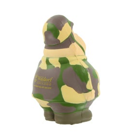 Branded Army Bert Stress Reliever