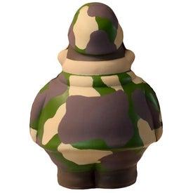 Custom Army Bert Stress Reliever
