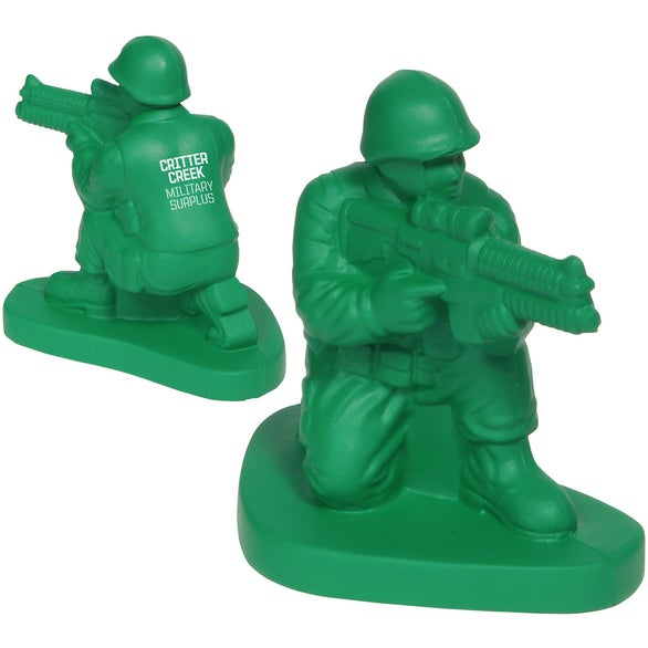 Green Army Man Stress Ball