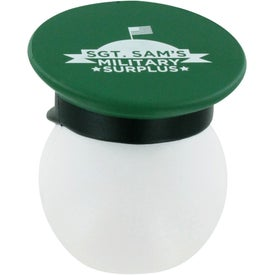 Army Officer Mad Cap Stress Ball for Customization