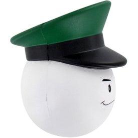 Company Army Officer Mad Cap Stress Ball