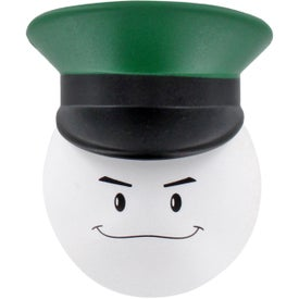 Army Officer Mad Cap Stress Ball