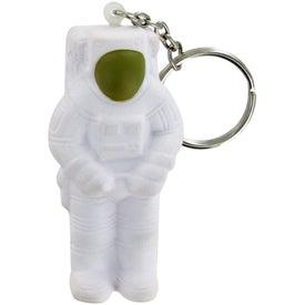 Astronaut Keychain Stress Toy for Customization