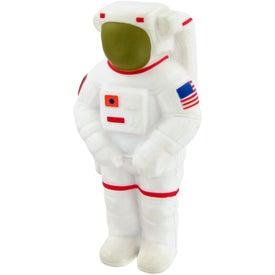 Logo Astronaut Stress Toy