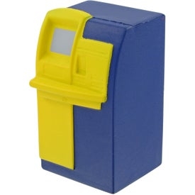 Imprinted ATM Machine Stress Toy